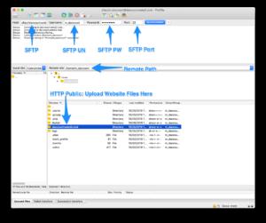DreamHost SFTP Setup - FileZilla